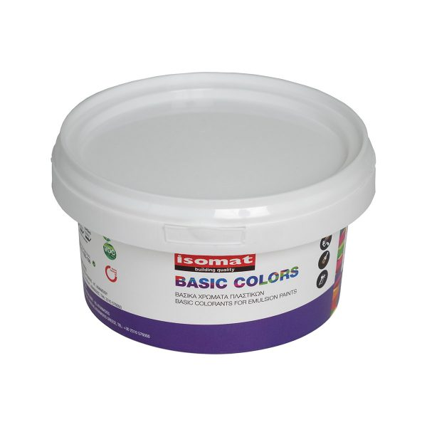 BASIC COLORS FOR EMULSION PAINTS