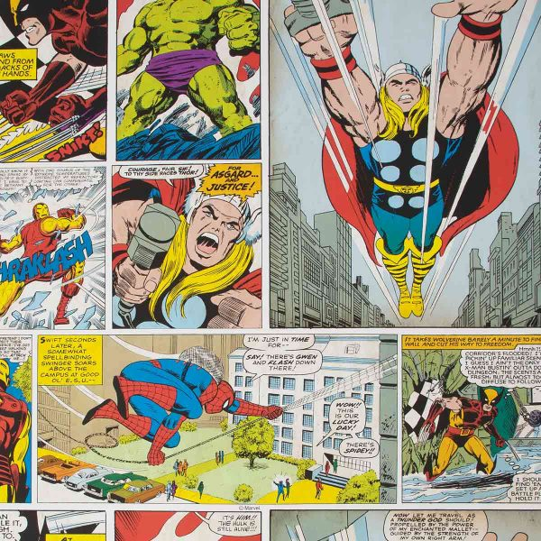 70-264 MARVEL COMIC STRIP