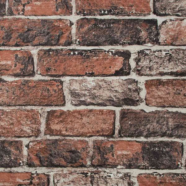 102834 RED BRICK WALL