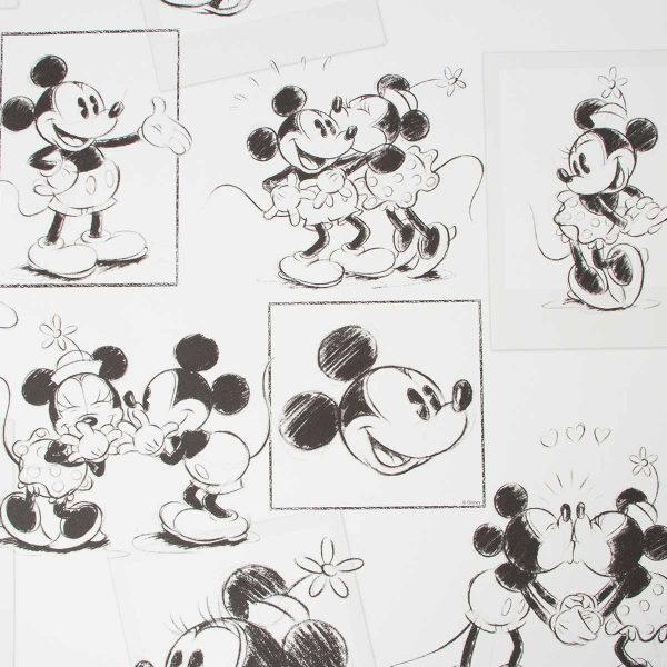102712 MICKEY & MINNIE SKETCH