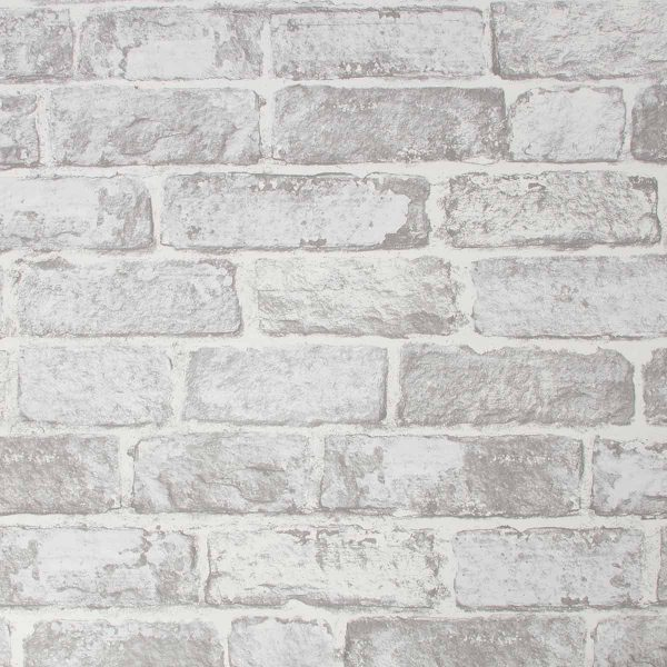 102835 WHITE BRICK WALL