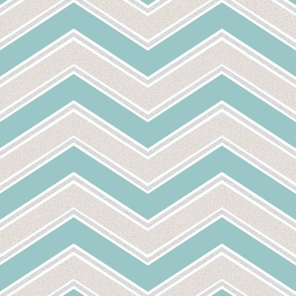 M1145 SKY BLUE CHEVRON Coloroll
