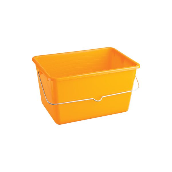 YELLOW PLASTIC PAINT BUCKET