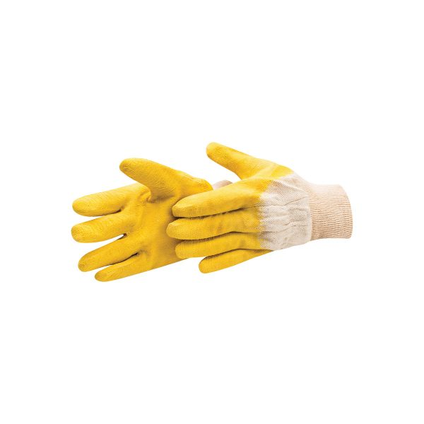 RUBBER COATED GLOVES CAT.II 4141