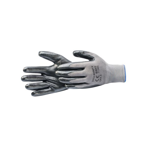 NITRILE-COATED GLOVES CAT.I
