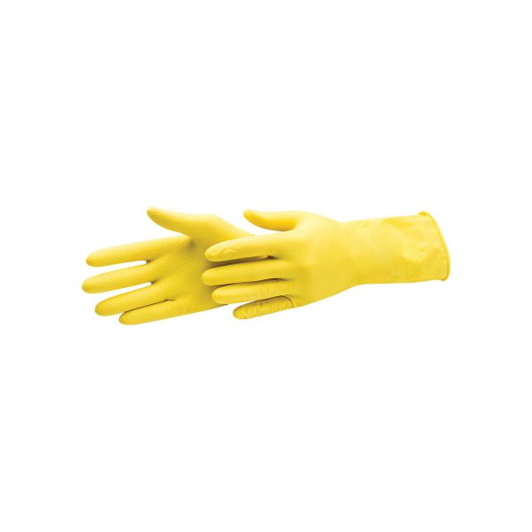 LATEX GLOVES (FLOCKED)