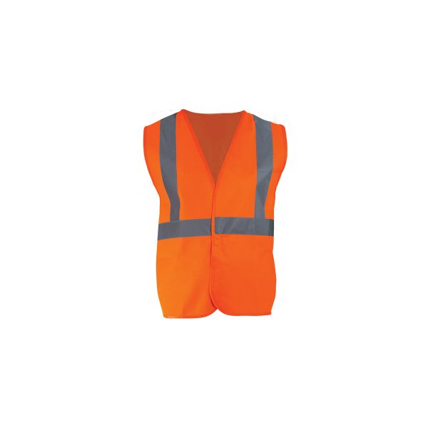 ORANGE HIGH VISIBILITY VEST CLASS ΙΙ