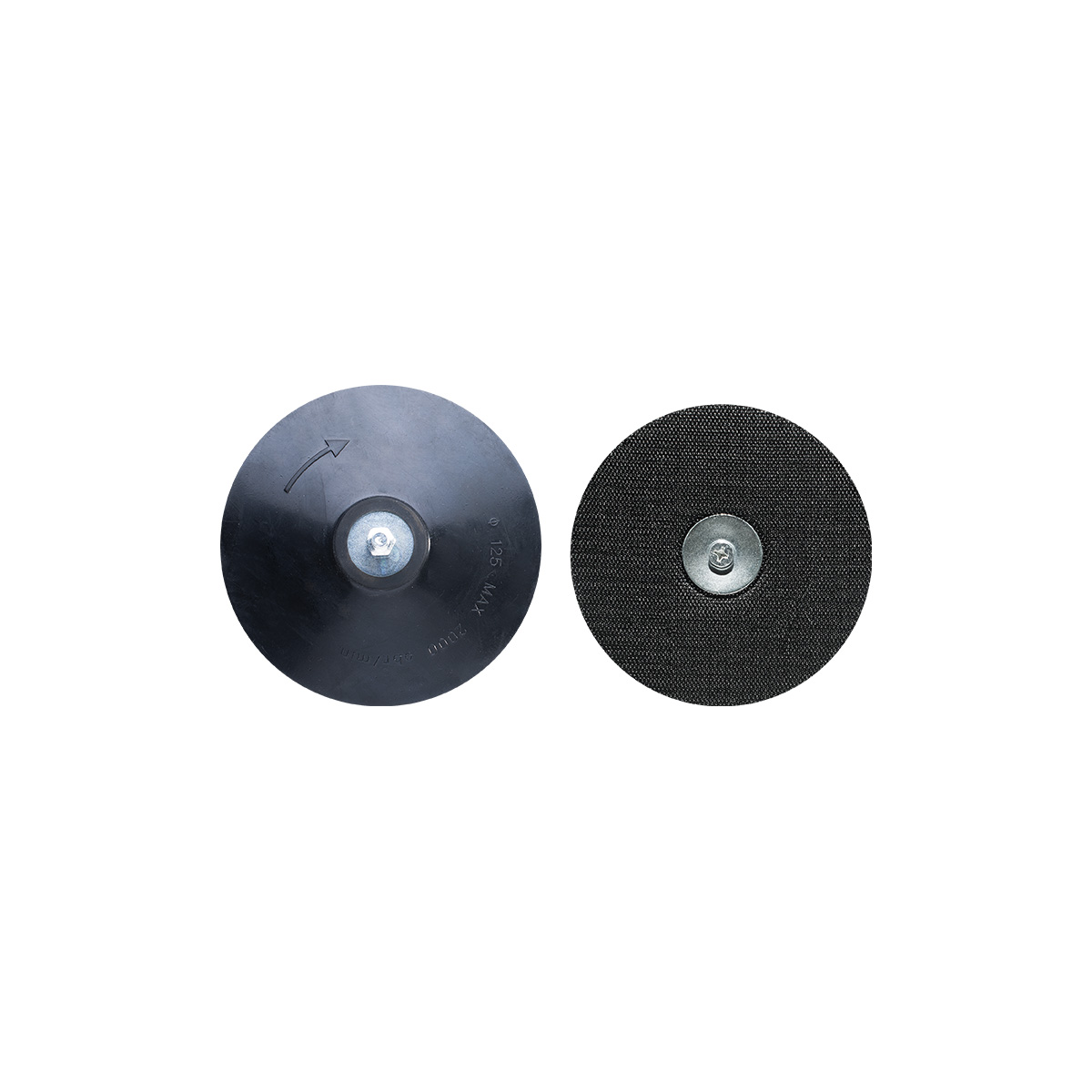 125MM DRILL BACKING PAD WITH VELCRO